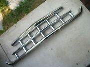 1957 Rambler Rare Amc Nice Chrome Front Grill Assembly Part 3150788..
