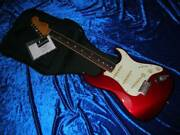Fender St65b-88tx Ocr / R Red Electric Guitar W/ Soft Case Crafted In Japan