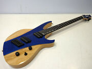 Ormsby Futura G6 Fmsa Dbu 6 String Natural-blue Flamed Electric Guitar And Case
