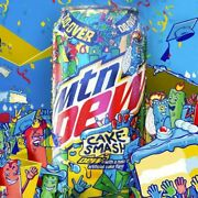 Mountain Dew Cake Smash Limited Edition Flavor Single Can In-hand