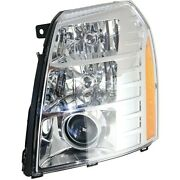 New Left Hid Headlight Assembly Fits Cadillac Escalade 2007-2014 Gm2502348