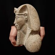 Bc Pharaonic Egyptian Antique Antiques Egypt Antiquities Figurine Statue -w243