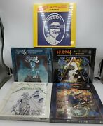 Lot Of 5, Rock Saws 500 Piece Puzzles Cover Albums -new Box Wear