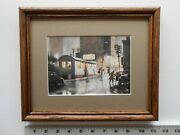 Aiden Lassell Ripley The Diner 8x10 Framed 4.0 452