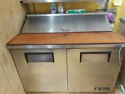 True Refrigerated Prep Table 48 Excellent Conditions