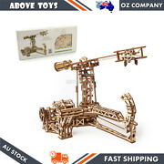 Ugears Aviator Mechanical Wooden 3d Puzzle Diy Model Kit For Teenagers 14y+