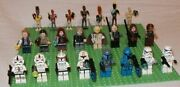 Lego Star Wars Minifigure Parts Lot First Order Storm Troopers Boba Fett Droids