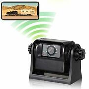 Hitch Wireless Backup Rear/front View Camera Rechargeable Battery For Easy