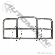 Chrome Bumper Guard Freightliner Cascadia 2018-up