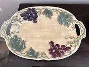 Noble Excellence Meritage 12 3/4 Oval Platter Best With Handles