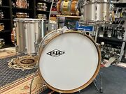 Asba Stainless Steel Drum Set 22/13/16 Made In France Free Shipping