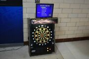Arachnid Galaxy G2 Commercial Coin Operated Dart Board Andndash Wall Mount Free Play