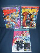 Wizard Comics Guide Magazine Lot Vol. 1 10 11 And 12 Poly-bagged 1992