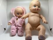 Vtg 1990 Water Baby By Lauer Toys Lot Of 2