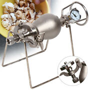 Traditional Vintage Mini Popcorn Maker Popper Stainless Pop Corn Puffing Machine