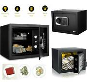 Electronic Safety Box Security Home/office Digital Lock Jewelry Black/safe Money