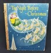 1946 The Night Before Christmas By Clement C Moore A Little Golden Book