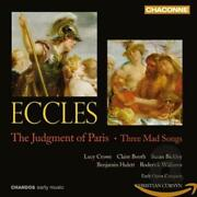 Lucy Crowe - Eccles - The Judgment Of Paris � Three Mad Songs / Crowe Booth...