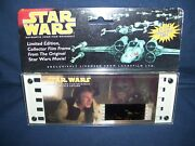 Star Wars Authentic 70mm Film Frame Han Solo Edition 50011 1995