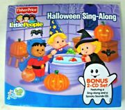 Fisher Price Little People Cd Halloween Sing Along Music 2 Cd Set New