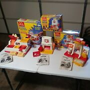 Vintage Mcdonalds Mcnugget, French Fry And Shake Snack Maker Complete Boxes, Read