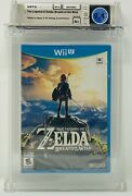 The Legend Of Zelda Breath Of The Wild Wata Sealed 9.4 A+ Wii 2017 2 Controllers