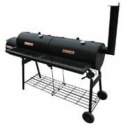 Vidaxl Smoker Charcoal Grill Bbq Barbecue Outdoor Pit Patio Food Meat Cooker New