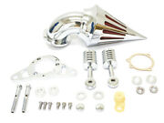 Chrome Spike Air Intake For 2004-2007 Harley Hd Low Rider Fat Bob Wide Glide