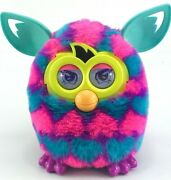 Furby Boom Hearts Pink Blue Teal Purple Interactive Toy Hasbro 2012