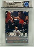 Mike Tysonand039s Punch Out Wata 6.0 Nintendo 1987 No-rev A Round Soq White Bullets