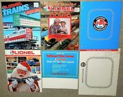 1992-94 Lionel Toy Trains Sellers' Catalogs, Seller's Ad Packet, Counter Placard