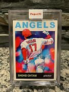 Topps Project 70 Shohei Ohtani Card 488 By Matt Mccormick Preorder Project70