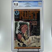Rust 1 Cgc 9.8 - Special Limited Edition - Adventure Comics - Spawn Ad