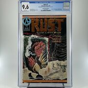 Rust 1 Cgc 9.6 - Special Limited Edition - Adventure Comics - Spawn Ad