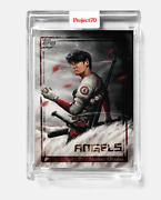 Topps Project 70 Shohei Ohtani Card 491 By Chuck Styles In Hand Project70