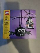 Lego 40493 Spider And Haunted House Pack Halloween Decoration New In Hand Box Ship