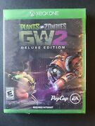 Plants Vs. Zombies Garden Warfare 2 Deluxe Edition Xbox One Factory Sealed
