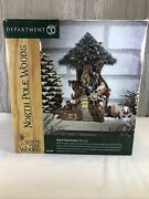 Dept 56 North Pole Woods Trim-a-tree Factory