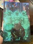 Tmnt The Last Ronin 1 -signed By Aaron Bartling Linebreakers - Ltd 300 Copies