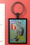 Evel Knievel Toy Stunt Cycle Metal Key Ring
