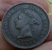 Just Reduced Super Nice 1891 Small Date Large Leaves Canada Large Cent Xf