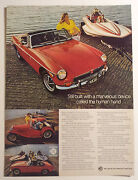 1973 Mg Mgb Article - Must See