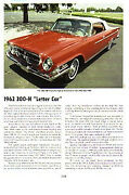 1962 Chrysler 300 H Convertible Article - Must See