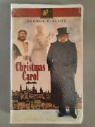 Sealed A Christmas Carol Clamshell Vhs, New Sealed In Plastic 1995