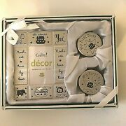 Cudlie Decor Baby Gift Frame With Tooth And Curl Keepsake Boxes Silver Toned