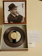 Bulova Sinatra The Best Is Yet To Come Watch Excellent Condition Black And Gold