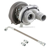 For Dodge Ram 2007-2011 Stigan Turbo Turbocharger W/ Gaskets And Oil Line Csw