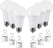 Rechargeable Led Light Bulbs With Battery Backup, Emergency Led Bulb, Pack Of 6,
