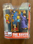 The Simpsons Mcfarlane Toys - The Raven Treehouse Of Horror