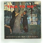 Little Willie John Talk To Me Kep 423 45 Rpm 7 Inch G+